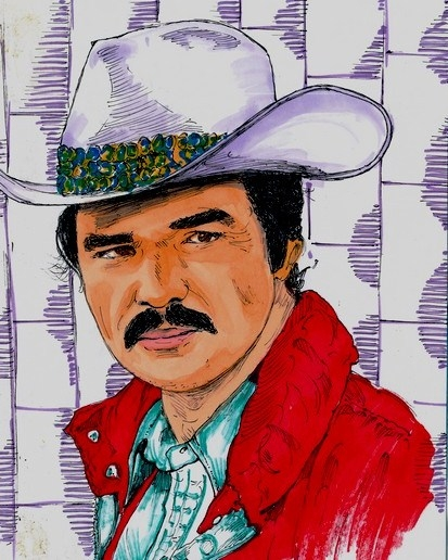 Burt Reynolds by didgiv